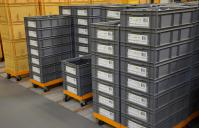 tray crate labeling